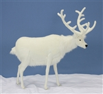 "48"" Hansa White Deer"