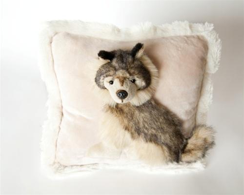 Jaag 12 Quot Pillow Pals Wolf
