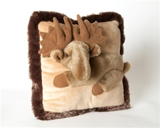 "Jaag 12"" Pillow Pals Moose"