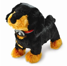 "11"" Kids Preferred  Pride Black Dachsund"