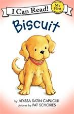 "7"" Kids Preferred Biscuit hardcover book"