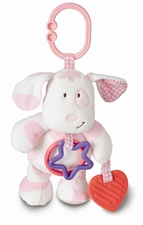 "8"" Kids Preferred On The Go Puppy/Elephant Set Healthy Baby Line (Asthma & Allergy Friendly)"