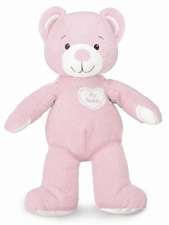 "13"" Kids Preferred Healthy Baby ""My Teddy""  Pink Healthy Baby Line (Asthma & Allergy Friendly)"