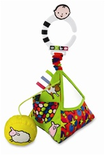 "10"" Kids Preferred Amazing Baby Attachable Activity Pyramid"