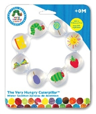 "7"" Kids Preferred Eric Carle Caterpillar Water Soother"