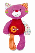 "12"" Kids Preferred Smarty KIds Kitty Floppy Plush"