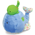 "10"" Kids Preferred Smarty Kids Mama Baby Whale Plays ""Raindrops Keep Falling On My Head"""