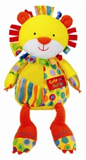 "12"" Kids Preferred Label Loveys Primary Large Plush Lion"