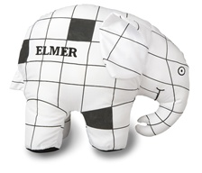 "10"" Kids Preferred Color me Elmer-Includes 4 Washable Markers"