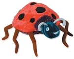 "7"" Kids Preferred Eric Carle  Ladybug bean bag toy"