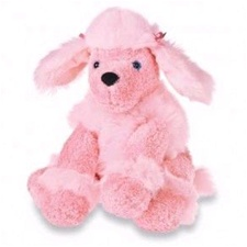 "Mary Meyer 9"" Sweet Penelope Poodle - Pink"