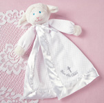 "Mary Meyer 14"" Christening Lamb Blanket"