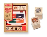 Melissa & Doug Baby Zoo Animals Stamp Set