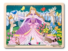 Melissa & Doug Woodland Princess Jigsaw 24pc