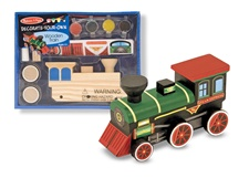 Melissa & Doug Wooden Train - DYO