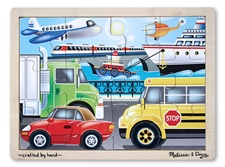 Melissa & Doug On the Go (Vehicles) Jigsaw (12 pc)