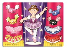 Melissa & Doug Ballerina Dress-Up Mix 'n Match Peg