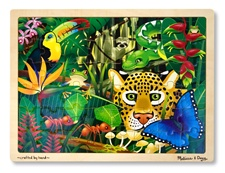 Melissa & Doug Rain Forest Jigsaw (48 pc)