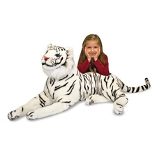 Melissa & Doug White Tiger - Plush