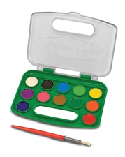 Melissa & Doug Take-Along Watercolor Paint Set