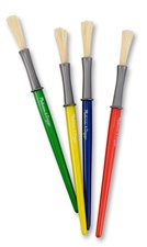 Melissa & Doug Medium Paint Brushes (set of 4)