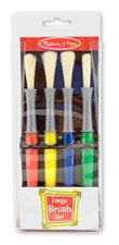 Melissa & Doug Large Paint Brushes (set of 4)