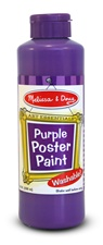 Melissa & Doug Purple Poster Paint (8 oz)