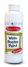 Melissa & Doug White Poster Paint (8 oz)