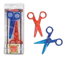 Melissa & Doug Child-Safe Scissor Set (2)