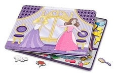 Melissa & Doug Dance All Night Princess Magnetic Tin Set