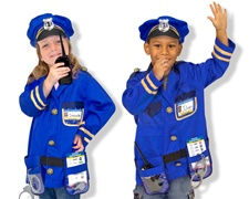 Melissa Amp Doug Police Officer Role Play Costume Set