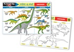 Melissa & Doug Dinosaurs Color-A-Mat (Bundle of 6)