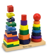 Melissa & Doug Geometric Stacker