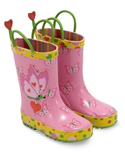 Melissa & Doug Bella Butterfly Boots - Size 6-7