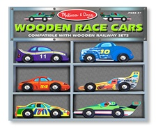 Melissa & Doug Race Cars