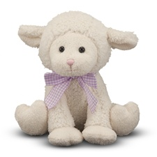 Melissa & Doug Meadow Medley Lamby- Plush