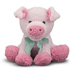 Melissa & Doug Meadow Medley Piggy- Plush