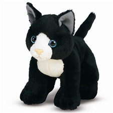 Melissa & Doug Lexie Black Cat- Plush