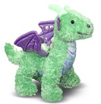 Melissa & Doug Zephyr Dragon- Plush