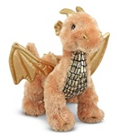 Melissa & Doug Luster Dragon- Plush