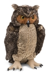 Melissa & Doug Lifelike Plush Owl