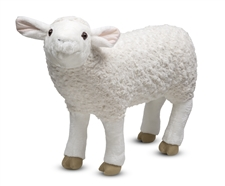Melissa & Doug Lifelike Plush Sheep