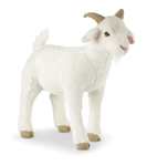 Melissa & Doug Lifelike Plush Goat