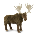 Melissa & Doug Lifelike Plush Moose
