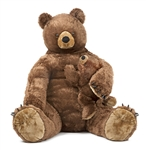 Melissa & Doug Brown Bear and Baby