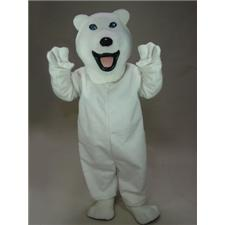 Mask U.S. Polar Bear Mascot Costume