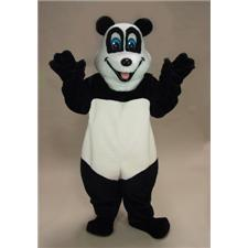 Mask U.S. Happy Panda Mascot Costume