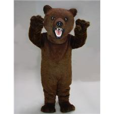 Mask U.S. Fierce Grizzly Mascot Costume