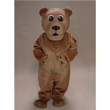 Mask U.S. Brown Bear Mascot Costume