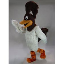 Mask U.S. Roadrunner Mascot Costume